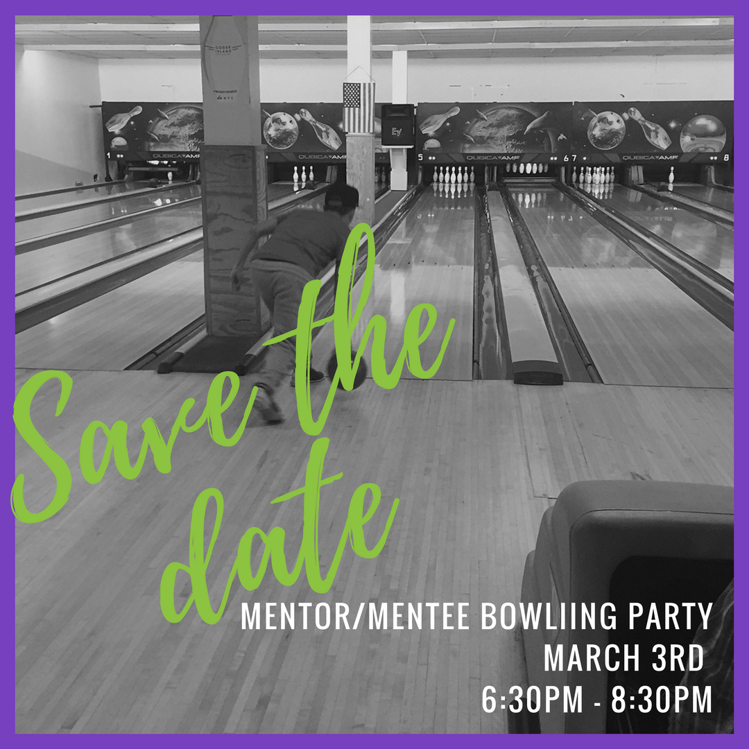 Mentor & Mentee Bowling Party
