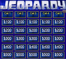 Virtual Game Night - Jeopardy Trivia! @ Zoom